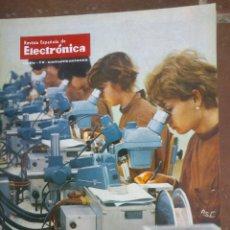 Coleccionismo de Revistas y Periódicos: REVISTA ESPAÑOLA DE ELECTRONICA. PUBLICIDAD DE EPOCA. VALVULAS, RADIOS, ETC. . Lote 48750463
