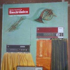 Coleccionismo de Revistas y Periódicos: REVISTA ESPAÑOLA DE ELECTRONICA. PUBLICIDAD DE EPOCA. VALVULAS, RADIOS, ETC. . Lote 48750474