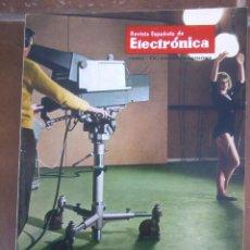 Coleccionismo de Revistas y Periódicos: REVISTA ESPAÑOLA DE ELECTRONICA. PUBLICIDAD DE EPOCA. VALVULAS, RADIOS, ETC. . Lote 48750486