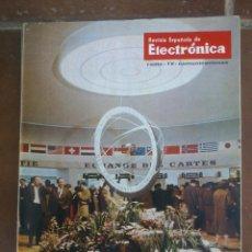 Coleccionismo de Revistas y Periódicos: REVISTA ESPAÑOLA DE ELECTRONICA. PUBLICIDAD DE EPOCA. VALVULAS, RADIOS, ETC. . Lote 48750496