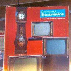 Coleccionismo de Revistas y Periódicos: REVISTA ESPAÑOLA DE ELECTRONICA. PUBLICIDAD DE EPOCA. VALVULAS, RADIOS, ETC. . Lote 48750537