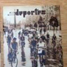 Coleccionismo de Revistas y Periódicos: CAMPEONATO ESPAÑA MARCHA BARCELONA 1932 RECORTE (R2560) 1 PÁG REVISTA BLANCO Y NEGRO 17 ABRIL 1932. Lote 48754247