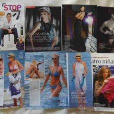 Coleccionismo de Revistas y Periódicos: LOTE DE VARIOS RECORTES JUDIT MASCO FOTOS ARTICULOS REPORTAJES. Lote 48757136