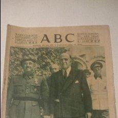 Coleccionismo de Revistas y Periódicos: ABC 26 DE SEPTIEMBRE 1939. Lote 48772486