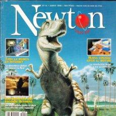 Coleccionismo de Revistas y Periódicos: REVISTA , NEWTON , Nº 14 .. Lote 48795219