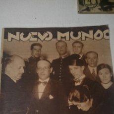 Coleccionismo de Revistas y Periódicos: NUEVO MUNDO Nº 1966 14 DE NOVIEMBRE DE 1931 EL JURADO A VUELTO. Lote 48819333