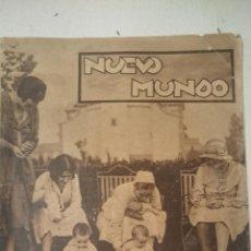 Coleccionismo de Revistas y Periódicos: NUEVO MUNDO Nº 1967 21 DE NOVIEMBRE DE 1931. Lote 48819414