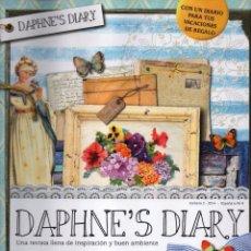 Coleccionismo de Revistas y Periódicos: DAPHNE'S DIARY N. 2 - UNA REVISTA LLENA DE INSPIRACION Y BUEN AMBIENTE (NUEVA). Lote 180107651
