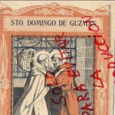 Coleccionismo de Revistas y Periódicos: SANTO DOMINGO DE GUZMAN 1940 EL SANTO DE CADA DIA LIBRETO 8 HOJAS APROX. 15 X 20 CM. EDIT.VIVES. Lote 48838352