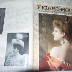 Coleccionismo de Revistas y Periódicos: LE FIGARO-MODES À LA VILLE, AU THÉÂTRE. ARTS DÉCORATIFS - 1903 - PRIMER AÑO, . 12 TOMOS. -REF3500-. Lote 48876943