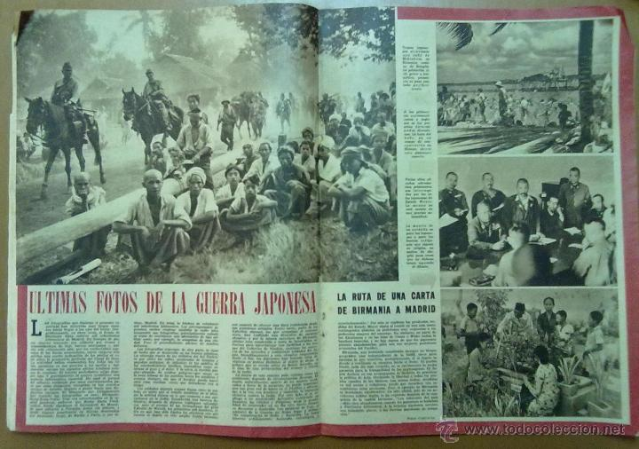 Coleccionismo de Revistas y Periódicos: REVISTA SEMANA AÑO IV Nº 157 FEBRERO 1943 SEGUNDA GUERRA MUNDIAL - Foto 2 - 48913999