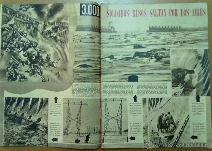Coleccionismo de Revistas y Periódicos: REVISTA SEMANA AÑO IV Nº 160 MARZO 1943 SEGUNDA GUERRA MUNDIAL HISTORIA STALIN - Foto 2 - 48914025