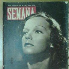 Coleccionismo de Revistas y Periódicos: REVISTA SEMANA AÑO V Nº 204 ENERO 1944 SEGUNDA GUERRA MUNDIAL PIO BAROJA. Lote 48914283