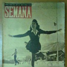 Coleccionismo de Revistas y Periódicos: REVISTA SEMANA AÑO IV Nº 159 MARZO 1943 SEGUNDA GUERRA MUNDIAL BUQUES FRANCESES HUNDIDOS EN TOLON. Lote 48918031