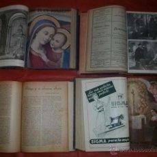 Collectionnisme de Revues et Journaux: LOTE REVISTA RELIGIOSA ILUSTRADA EL BUEN CONSEJO PADRES AGUSTINOS. Lote 48920080
