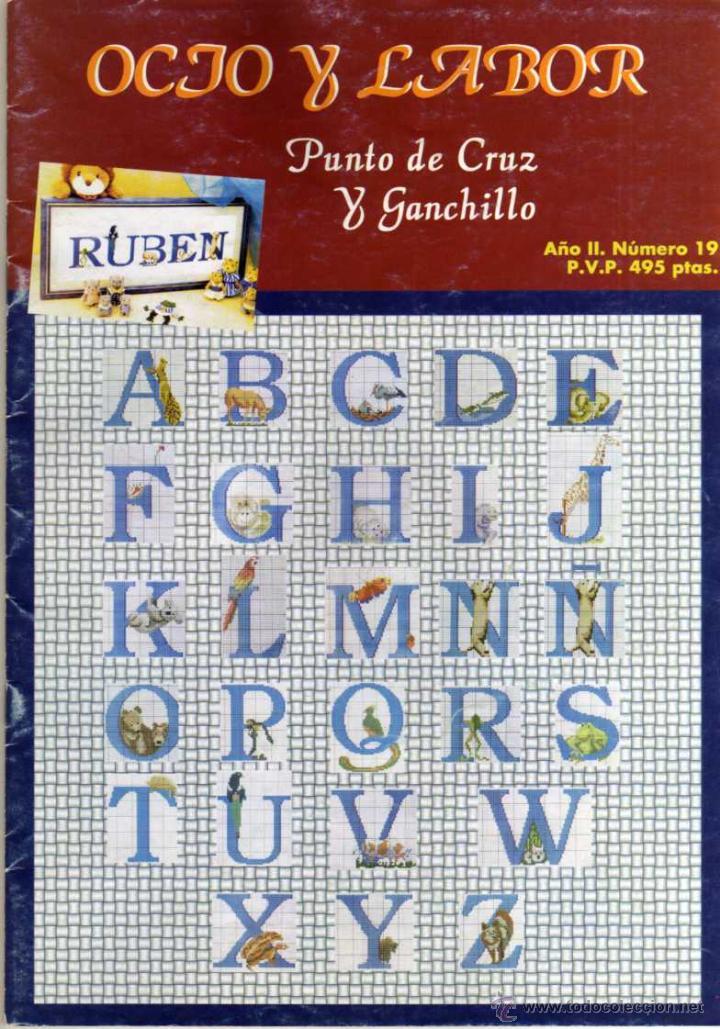 OCIO Y LABOR - PUNTO DE CRUZ Y GANCHILLO - AÑO II Nº 19 (Coleccionismo - Revistas y Periódicos Modernos (a partir de 1.940) - Otros)