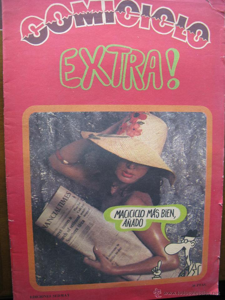 COMICICLO. EXTRA!. EDICIONES SEDMAY.1974. 24 PÁGS. 28 X 40 CM. (Coleccionismo - Revistas y Periódicos Modernos (a partir de 1.940) - Otros)