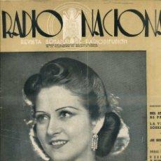 Coleccionismo de Revistas y Periódicos: REVISTA RADIO NACIONAL Nº 196 AGOSTO 1942 - ESTRELLITA CASTRO. Lote 48973932