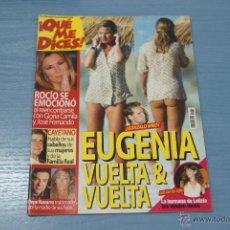 Coleccionismo de Revistas y Periódicos: REVISTA:¡QUE ME DICES!,Nº472,ROCIO JURADO,EUGENIA MARTINEZ DE IRUJO,CAYETANO MARTINEZ,PEPE NAVARRO. Lote 52418946