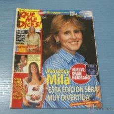 Coleccionismo de Revistas y Periódicos: REVISTA:¡QUE ME DICES!,Nº337,MERCEDES MILÁ,SONIA FERRE,ISABEL SARTORIUS,JULIAN MUÑOZ. Lote 48979288
