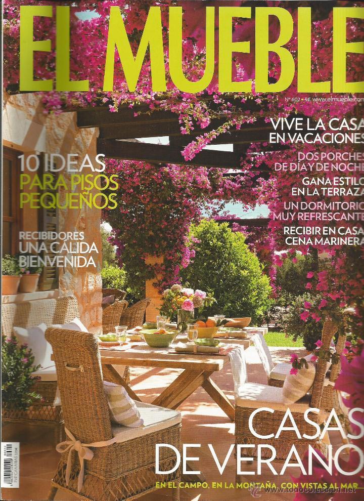 revista el mueble nmero ideas para pisos pequeos casas de verano