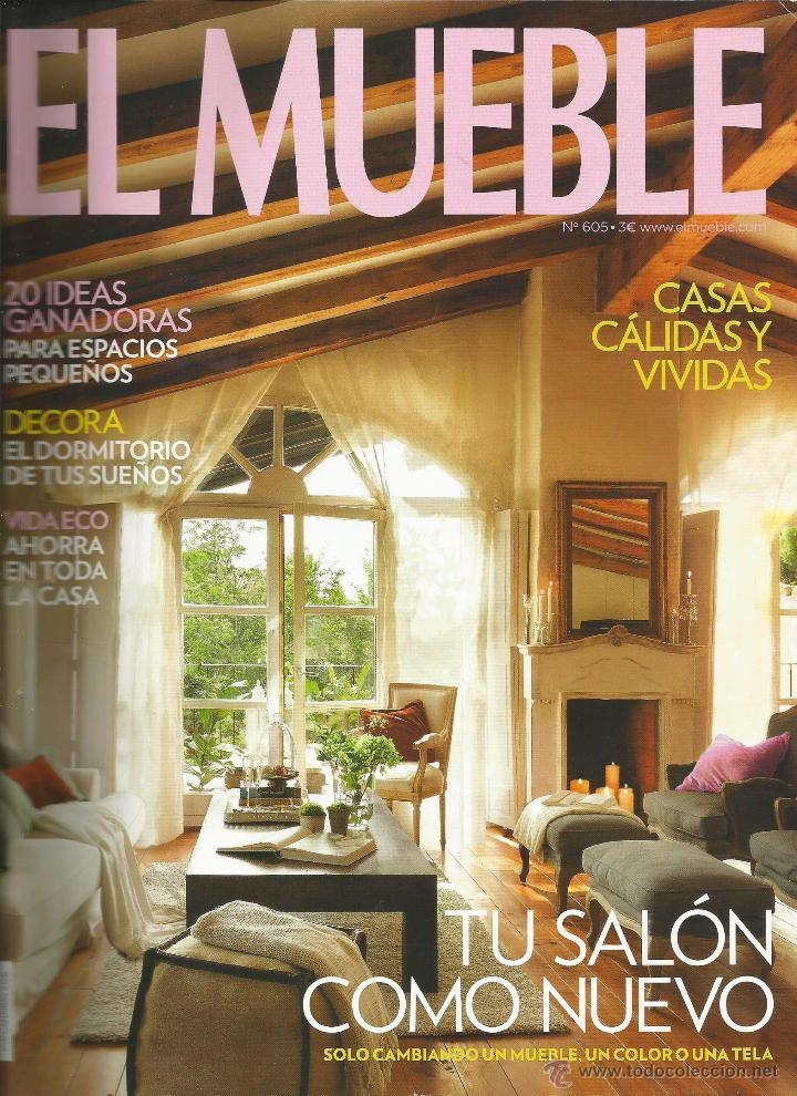 Revista el mueble n mero 605 tu sal n como nu comprar for El mueble online