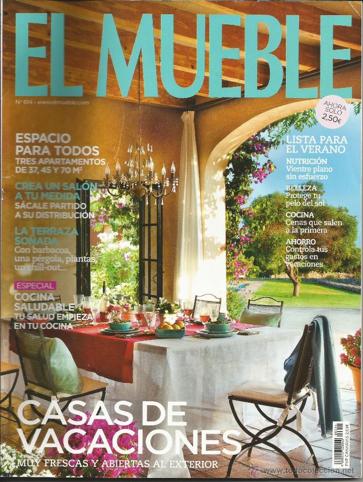 Revista el mueble n mero 614 casas de vacacion comprar for El mueble online