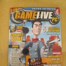 Coleccionismo de Revistas y Periódicos: REVISTA GAMELIVE PC N º 36, AÑO 2004. Lote 48990649