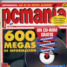 Coleccionismo de Revistas y Periódicos: REVISTA - PCMANIA Nº 15 - ENERO 1994 - SIN CD. Lote 49017143