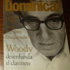 Coleccionismo de Revistas y Periódicos: EL DOMINICAL Nº 101 - 25 DE FEBRERO 1996 - WOODY ALLEN, MARTIN SCORSESE, CARMEN MAURA. Lote 49062221
