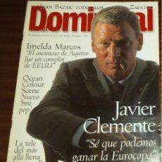 Coleccionismo de Revistas y Periódicos: EL DOMINICAL Nº 116 - 9 DE JUNIO 1996 - JAVIER CLEMENTE. Lote 49062399