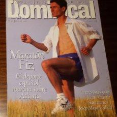 Coleccionismo de Revistas y Periódicos: EL DOMINICAL Nº 121 - 14 DE JULIO 1996 - ESPECIAL JUEGOS OLÍMPICOS, MARATÓN FIZ, SAMARANCH. Lote 49062706