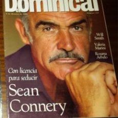 Coleccionismo de Revistas y Periódicos: EL DOMINICAL Nº 124 - 4 DE AGOSTO 1996 - SEAN CONNERY, WILL SMITH, VALERIA MARINI. Lote 49062725