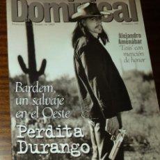 Coleccionismo de Revistas y Periódicos: EL DOMINICAL Nº 149 - 26 DE ENERO 1997 - PERDITA DURANGO, JAVIER BARDEM, ALEJANDRO AMENÁBAR. Lote 49062931