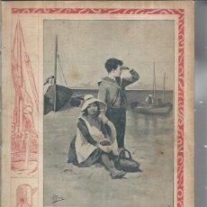 Colecionismo de Revistas e Jornais: PERIÓDICO ILUSTRADO NUEVO MUNDO AÑO VI 226 JULIO 1899 Nº 290, EN LA PLAYA, LEER. Lote 247328300