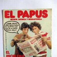 Coleccionismo de Revistas y Periódicos: EL PAPUS AÑO 1 NUMERO 2, 27 OCTUBRE 1973. LA DELINCUENCIA.. Lote 49196096