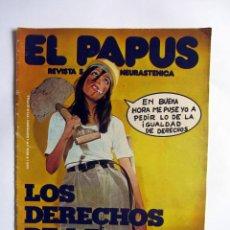 Coleccionismo de Revistas y Periódicos: EL PAPUS AÑO 1 NUMERO 3, 3 DE NOVIEMBRE 1973. LOS DERECHOS DE LA MUJER.. Lote 49196225