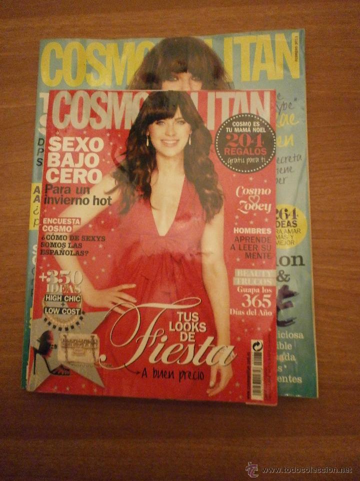 2 REVISTAS COSMOPOLITAN - COSMO ESPAÑA - DICIEMBRE 2012- Nº 267- FEBRERO 2013 Nº 269 (Coleccionismo - Revistas y Periódicos Modernos (a partir de 1.940) - Otros)