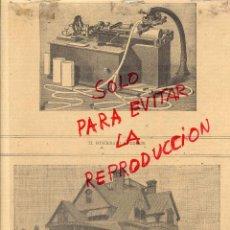 Coleccionismo de Revistas y Periódicos: FONOGRAFO 1890 EDISON Y CHALET DE EDISON HOJA REVISTA. Lote 49217478