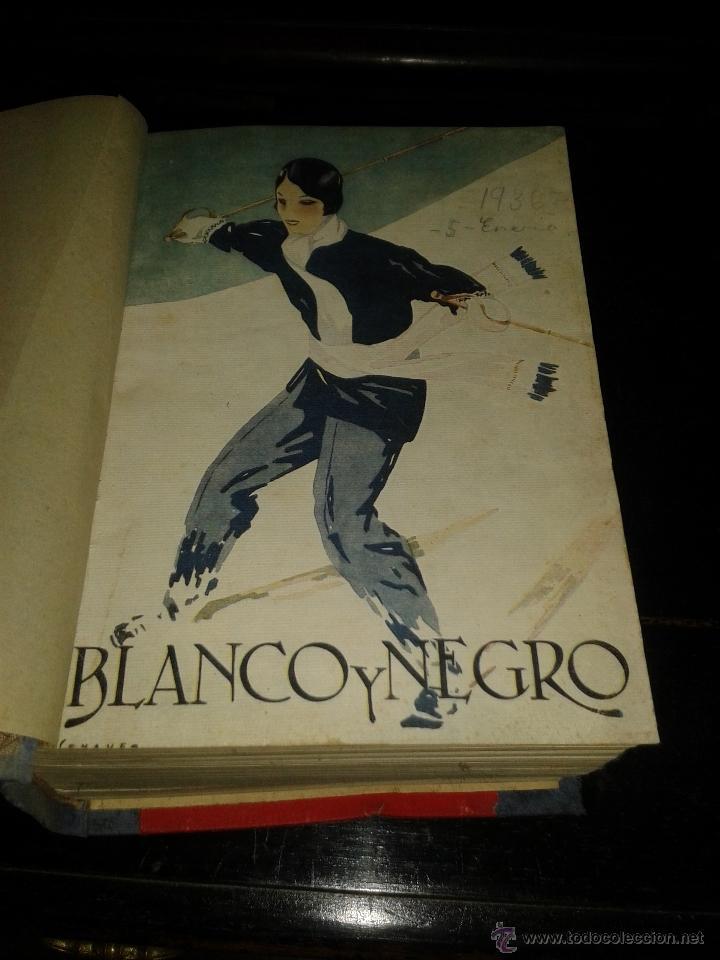 ANUARIO BLANCO Y NEGRO 1936 (Coleccionismo - Revistas y Periódicos Antiguos (hasta 1.939))