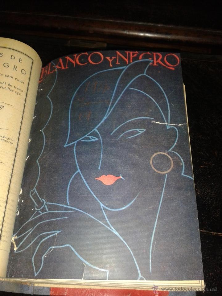Coleccionismo de Revistas y Periódicos: anuario blanco y negro 1936 - Foto 4 - 49227739