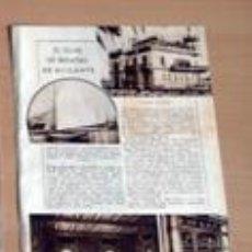 Coleccionismo de Revistas y Periódicos: CLUB REGATAS ALICANTE EN 1932 RECORTE (CV5) 1 PÁGINA REVISTA BLANCO Y NEGRO 25 DICIEMBRE 1932. Lote 49268137