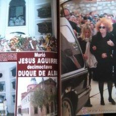 Coleccionismo de Revistas y Periódicos: RECORTE DUQUESA CAYETANA DE ALBA JESUS AGUIRRE. Lote 49299859