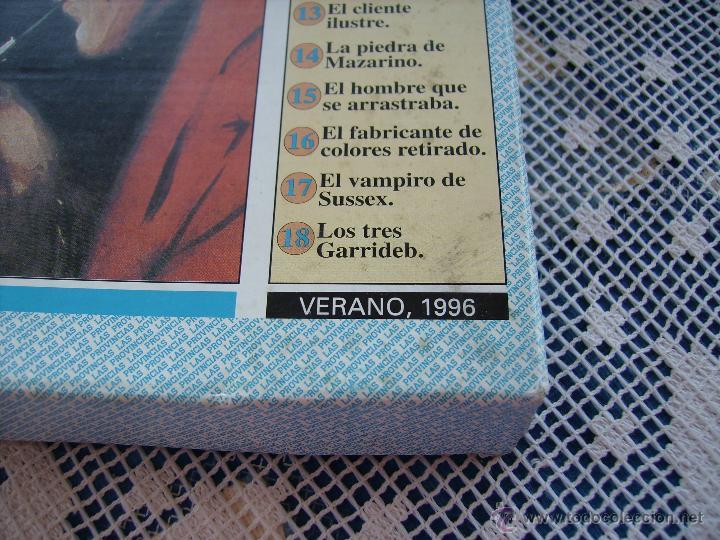 Coleccionismo de Revistas y Periódicos: **CAJA CON LOTE DE NOVELAS DE--SERLOCK HOLMES---DEL DIARIO, LAS PROVINCIAS** - Foto 3 - 49310730