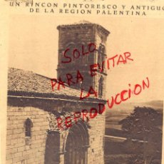 Coleccionismo de Revistas y Periódicos: AGUILAR DE CAMPOO IGLESIA ROMANICA 1929 HOJA REVISTA. Lote 49413153
