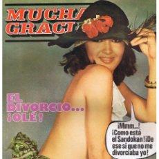 Coleccionismo de Revistas y Periódicos: MUCHAS GRACIAS. Nº 33. EDITORIAL PUCH 1976. (RF.MA). C/38. Lote 222528558