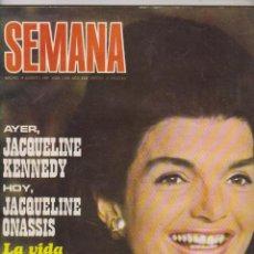 Coleccionismo de Revistas y Periódicos: REVISTA SEMANA JACQUELINE KENNEDY. Lote 49436867