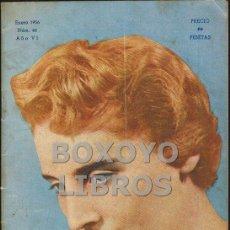 Coleccionismo de Revistas y Periódicos: GALAS FEMENINAS. REVISTA DEL CLUB ARTÍSTICO ESPAÑOL DE PELUQUEROS DE SEÑORAS DE MADRID. ENERO 1956. Lote 48894896
