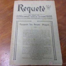 Coleccionismo de Revistas y Periódicos: SEMANARIO DE FALANGE EDITADO EN TUDELA REQUETE. Lote 49476636