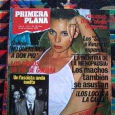 Coleccionismo de Revistas y Periódicos: REVISTA PRIMERA PLANA 1978 / SUSANA ESTRADA, PASOLINI, OTERO BESTEIRO, VANESSA Y ++++. Lote 49477487